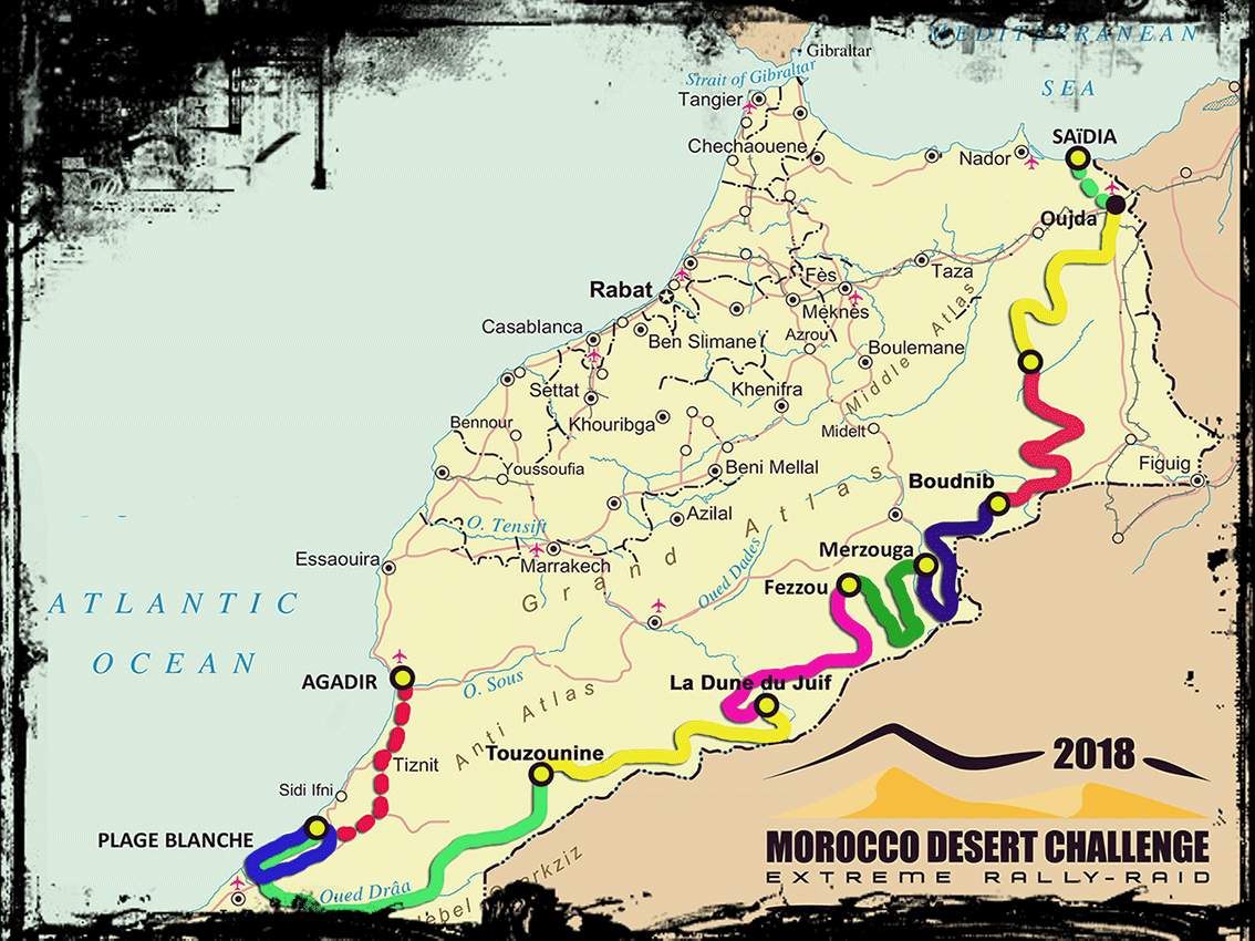 MDC route 2018